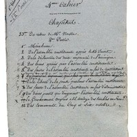 STAËL-HOLSTEIN, Anne-Louise-Germaine, Baronne de (1766-1817). Autograph manuscript of <I>Considérations sur la Révolution franaise</I>, dated on the first leaf 'Clichy 24 7bre', n.y. [1814], the manuscript corresponding to Parts I and II, chapters xvi-xxv