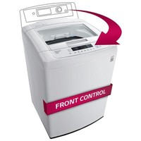 LG Electronics 4.3 cu. ft. High-Efficiency Front Control Top Load Washer in White, ENERGY STAR-WT1101CW at The Home Depot