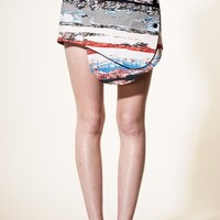 OPENING CEREMONY TERAZZO FRONT SNAP SKIRT - WOMEN - SKIRTS - OPENING CEREMONY - OPENING CEREMONY