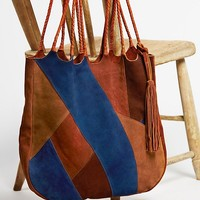 Free People Decades Patched Tote