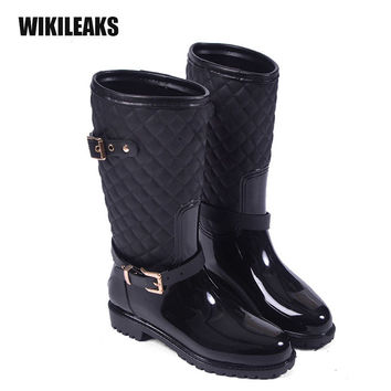 Shop Women's Winter Rain Boots on Wanelo