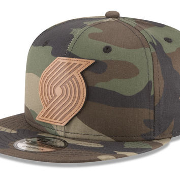 Portland Trail Blazers New Era NBA Camo 9FIFTY Snapback Cap | lids.com