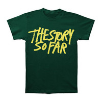 Story So Far Men's  New Logo T-shirt Green