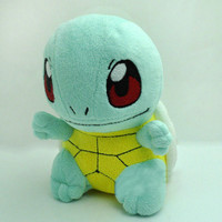 "HOT! New 6.5"" SQUIRTLE Pokemon Rare Soft Plush Toy Doll"