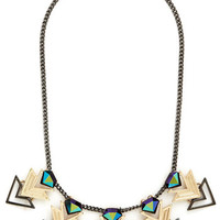 ModCloth Statement Get the Point Necklace