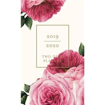Vintage Floral 2 Year Pocket Planner