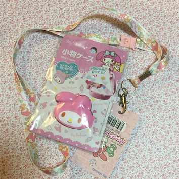 Sanrio My Melody lanyard and mini case