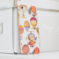apple iphone case : special golden painting balloons