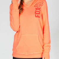 Fox Freestyle Womens Hoodie Coral  In Sizes