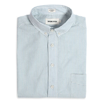 Antique Blue Stripe Popover Jack