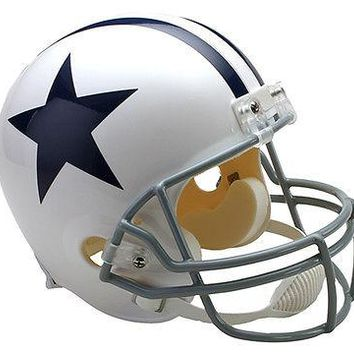 DALLAS COWBOYS THROWBACK 1960-1963 RIDDELL FULL SIZE FOOTBALL HELMET