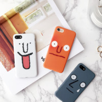 Cartoon Fuuny Emoj Iphone 7 7Plus &6 6S Plus Cover Case + Nice Gift Box