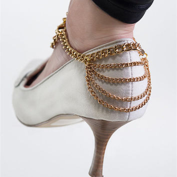 Jewelry Gift New Arrival Cute Shiny Sexy Stylish Ladies Accessory Strong Character Tassels Chain Anklet [6768797703]