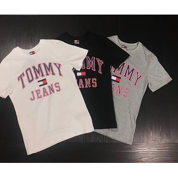 TOMMY Couple short sleeved T - shirts