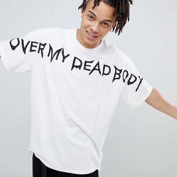 Cheap Monday OMDB Logo T-Shirt at asos.com
