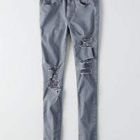AEO Denim X Hi-Rise Jegging, Steel Blue