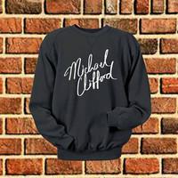 Michael Clifford logo art sweater Sweatshirt Crewneck Men or Women Unisex Size