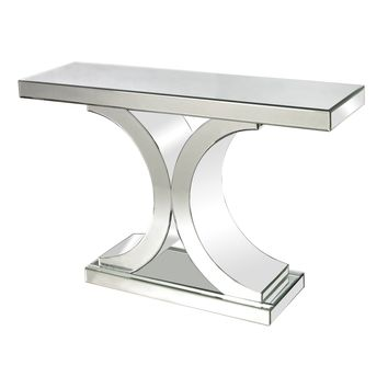 114172 Mirrored Console Table - Free Shipping!