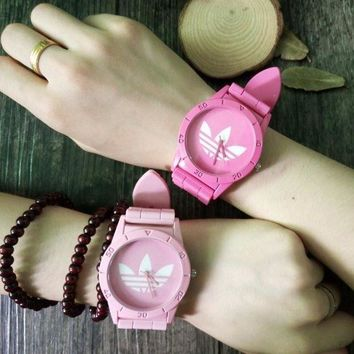 CREYONN Adidas Silicone Strap Watch -  Candy color
