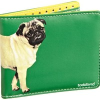 Toddland Men's Destroyer Wallet, Green, One Size