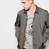 Cheap Monday | Cheap Monday Coach Overshirt Jacket Shell Nylon at ASOS