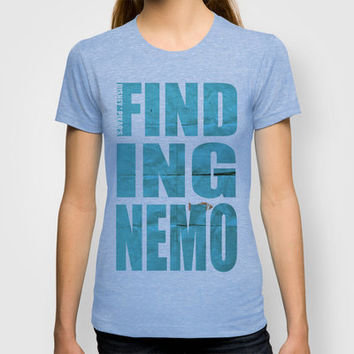 Finding Nemo T-shirt by gthomasmcdonald | Society6