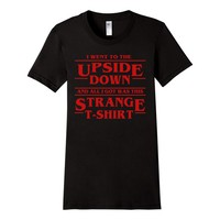 Upside Down Thing - I got this Strange T-Shirt - SLIM FIT