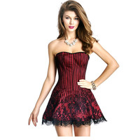 2016 S-XXL 4 Colors Full Slips New Hot Shapewear Lingerie Waist Training Corset Dress Shaper Sexy Cosplay Lingerie  W46240