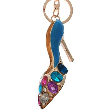 High heeled shoe Keychain For women