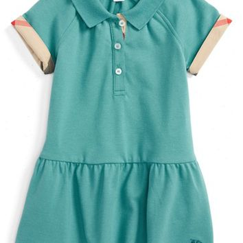 Burberry 'Mini Cali' Polo Dress (Baby Girls) | Nordstrom