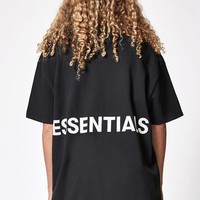 FOG - Fear Of God Essentials Boxy Graphic T-Shirt at PacSun.com