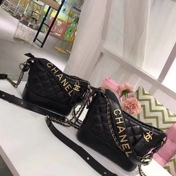 New CHANE SIZE 20 *15 CM Double C Women Leather silver and gold on Chain cross body bag Chane vintage Chanl jumbo   Fashion Handbag Neverfull Tote Shoulder Bag Wallet Messenger Bags
