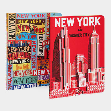 New York Wonder City Notebook Set of Two | MoMA