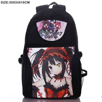 Anime Backpack School Lot kawaii cute School Backpack Cosplay Unisex Tokyo Ghoul kaneki ken Shoulder/Laptop/Travel Bag for Teenagers AT_60_4