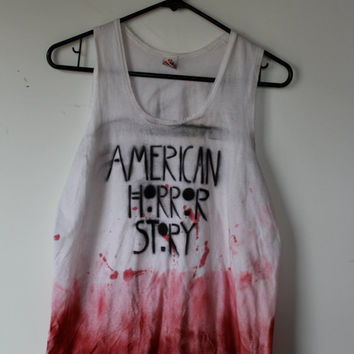 American Horror Story Dip Dyed Tank Top