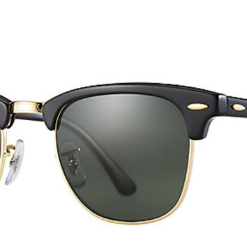 rb3016 w0365 49 21  ray ban rb3016 w0365 49-21 clubmaster classic