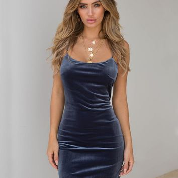 Buy Our Audrina Dress in Steel Online Today! - Tiger Mist