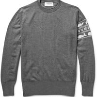 Thom Browne - Jacquard-Knit Wool Sweater | MR PORTER