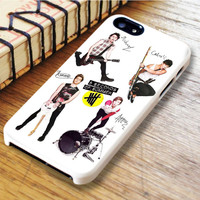 5 Seconds Of Summer Paper iPhone 6   iPhone 6S Case