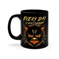 """Every Day Is Halloween"" Mug from Worship13, LLC."