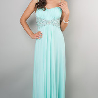 Spaghetti Strap Prom Gown by Blush