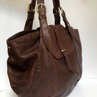 Brown Leather Purse (Small/Indie Brands)
