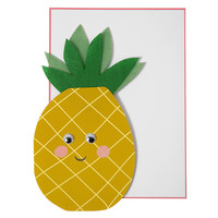 Meri Meri Pineapple with Felt Card