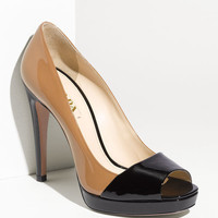 Prada Open Toe Pump | Nordstrom