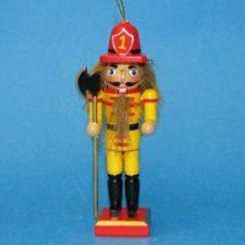 Christmas Ornament - Fireman With Axe Nutcracker