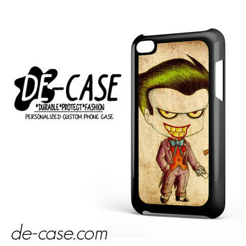 Harley Quinn And Joker Art Couple Case Device 1 DEAL-5069 Apple Phonecase Cover For Ipod Touch 4