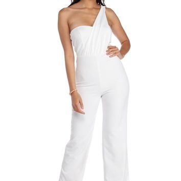 Graceful Goddess Formal Jumpsuit