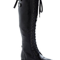 Jill Be Nimble Boot in Black | Mod Retro Vintage Boots | ModCloth.com