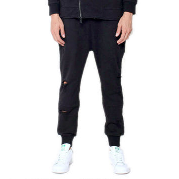 Hysteria Jogger Sweatpants in Black