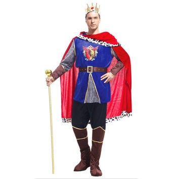 Cosplay Halloween Mask Costume Ball Costumes King